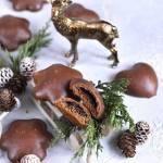Pierniczki jak alpejskie, w czekoladzie