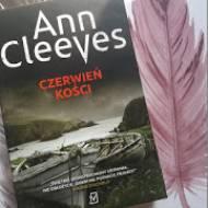 """""""Czerwień kości"""" Ann Cleeves"""