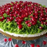 Pyszne ciasto leśny mech