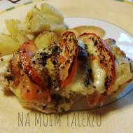 Pierś z kurczaka z mozzarellą i pomidorami