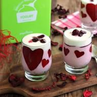 Walentynkowe desery jogurtowe