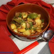 Ziemniaki biedaka - Patatas a lo Pobre