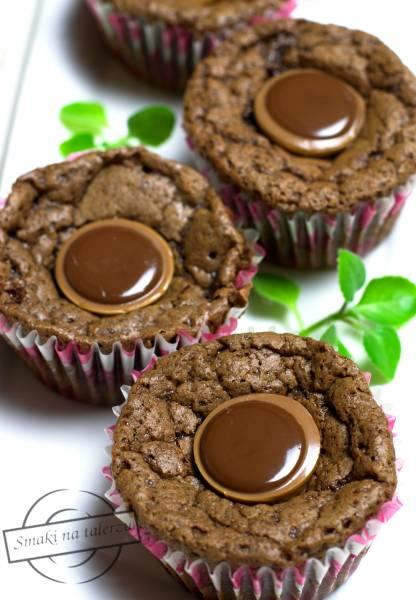 Kubeczki brownie z toffifee