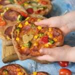 Razowe pizzerinki nie tylko na Walentynki