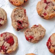 Malinowo-Makowe Muffinki