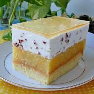 Ciasto jabłecznik stracciatella