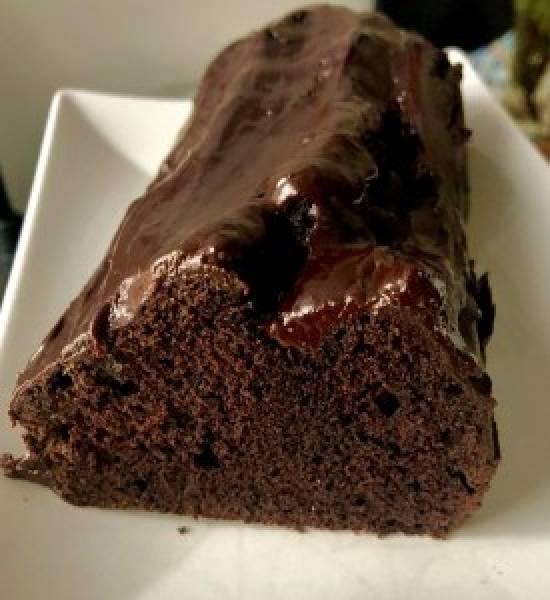 Czekoladowe ciasto na białkach