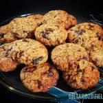 Ciasteczka jaglano - owsiane 🍪