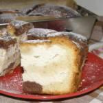 """smaczne ciasto ucierane z twarogiem-""""niby sernik""""..."""