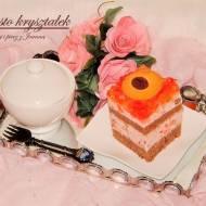 Kryształek z wafelkami kakaowymi i ciasteczkami z marmoladą