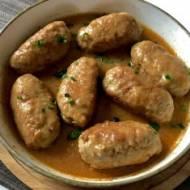 Roladki faszerowane z mięsa mielonego