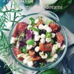 Sałatka makaronowa z mozzarellą i suszonymi pomidorami