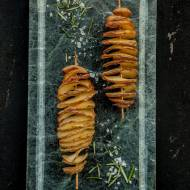 Spiralne frytki z piekarnika