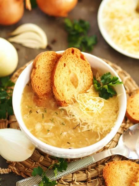 Najlepsza zupa cebulowa