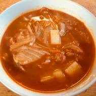 zupa z kimchi i tofu