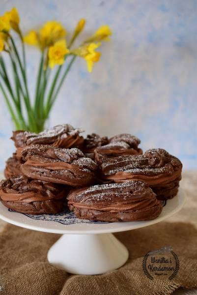 Eklerki mocno czekoladowe