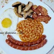 Full English breakfast czyli angielskie śniadanie