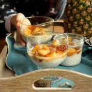 Pudding chia z karmelizowanym anansem