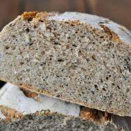 Chleb żytni z czarnuszką 40% (na zakwasie)
