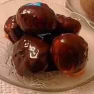 Super pączki w polewie czekoladowej na tłusty czwartek