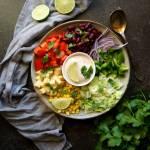 Kolorowa sałatka meksykańska