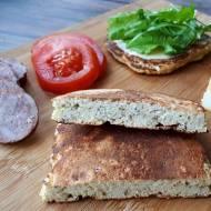 KETO CHLEB Z PATELNI (keto, LCHF, paleo, bez glutenu i laktozy)