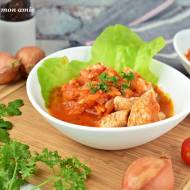 Kurczak w marchewce i pomidorach