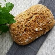 Chleb pszenno - żytni z siemieniem i lnem złocistym