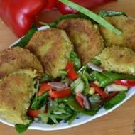 Kotleciki ryżowe z brokułem