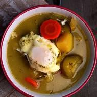 Zupa ogórkowa na żołądkach drobiowych