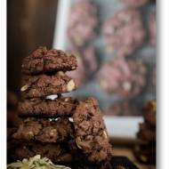 Ciasteczka czekoladowe z pestkami dyni Nigelli