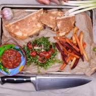 Enchiladas - wersja z grzybami. Yummy :)