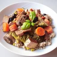 Tofu stir-fry, Zielona Baza