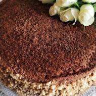 Tort czekoladowo - kawowy