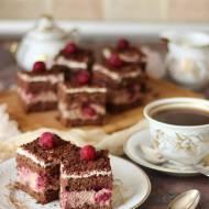 Ciasto wiśniowo - czekoladowe