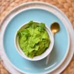 Jak zrobić puree z zielonego mrożonego groszku?