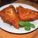 Toskańskie smażone tosty z nadzieniem