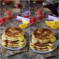 Amerykańskie misie-Pancakes z syropem klonowym