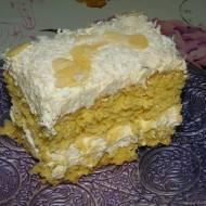 Ciasto kokosowe z pysznym kremem