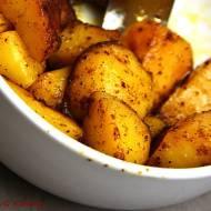 Pieczone ziemniaki z pieprzem białowieskim