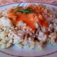 Ryż  z mięsem mielonym i kapustą-a'la gołąbki