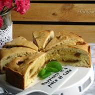 Szybkie ciasto z masą krówkową
