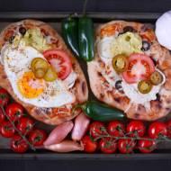 Tureckie chlebki na śniadanie lub lunch.
