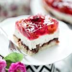 Ciasto bez pieczenia na sucharkach