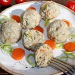 Delikatne pulpeciki z indyka z warzywami i koperkiem