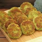 Kotlety brokułowo - serowe