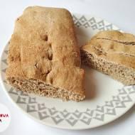 Chlebek pełnoziarnisty na drożdżach