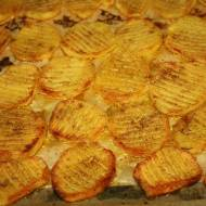 Drapane , pieczone ziemniaki