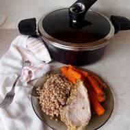 Wieprzowina w marchewce - recenzja garnka próżniowego Happycall Vacuum Pot