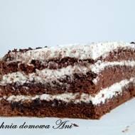 Tort czekoladowo-śliwkowy